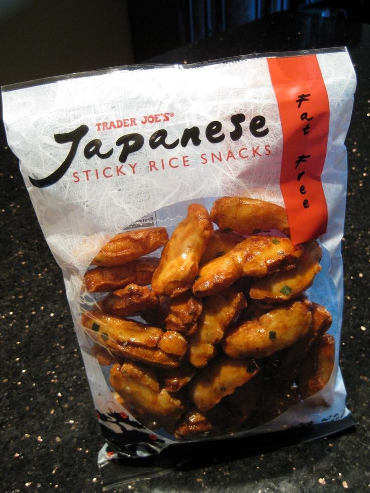 Japanese sticky rice snacks
