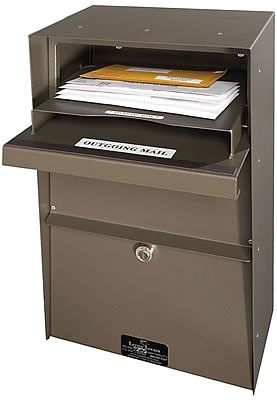 LetterLocker Locking Vertical Wall Mount Mailbox | seattleluxe.com  sc 1 st  Pinterest & 127 best Wall Mounted Mailboxes images on Pinterest | Wall mount ...