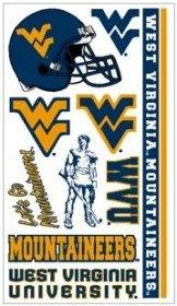 West Virginia Mountaineers WVU NCAA Temporary Tattoos (10 Tattoos) $22.95