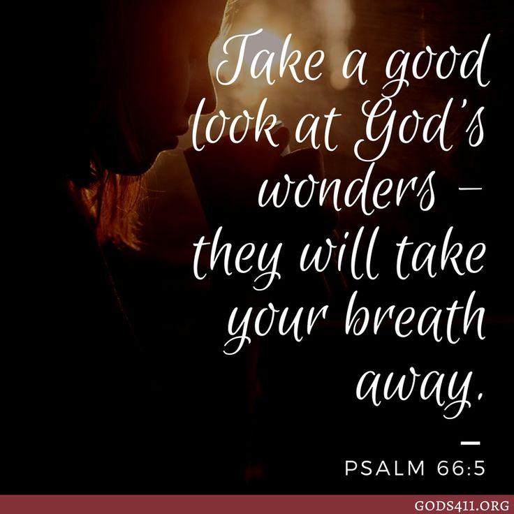 Psalm 66:5   Bible Verses