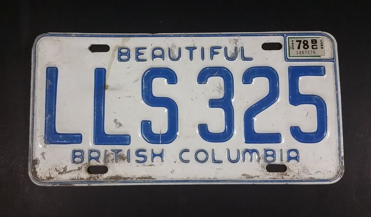 1978 Beautiful British Columbia White with Blue Letters Vehicle License Plate LLS 325 https://treasurevalleyantiques.com/products/1978-beautiful-british-columbia-white-with-blue-letters-vehicle-license-plate-lls-325 #Vintage #1970s #70s #Seventies #BeautifulBC #BritishColumbia #Canada #Canadian #LicensePlates #Vehicles #Autos #Automobilia #Mancave #SheShed #Garage #Collectibles #Cars
