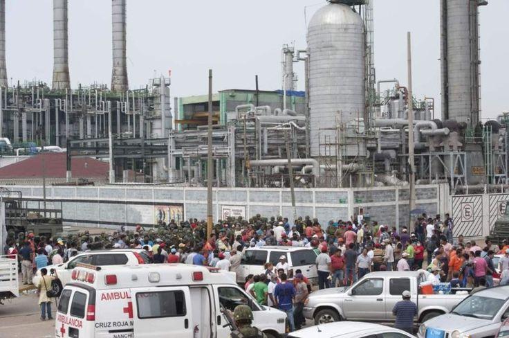 24 Orang Jadi Korban Ledakan Pabrik Kimia Meksiko