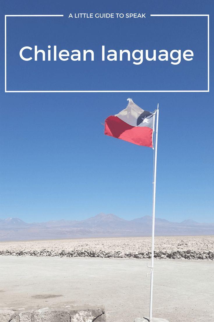 chilean language, chile
