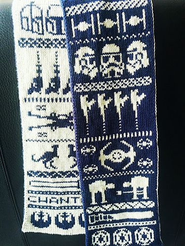 Knitting Pattern For Star Wars Scarf : 1000+ images about Pakl?dning on Pinterest