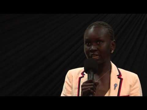 33 best images about Alek Wek, UNHCR Goodwill Ambassador ...