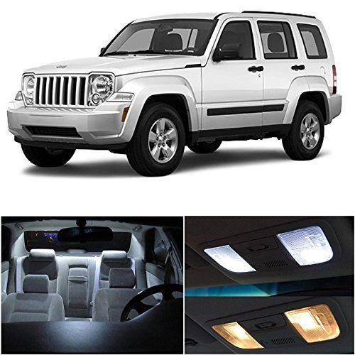Ledpartsnow Jeep Liberty 2008 2013 Xenon White Premium Led Interior Lights Package Kit 5 Pieces