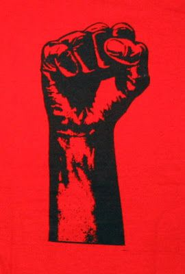 Black Panther Party Fist | ... special black power issue volume 22 no 3 july 2008 the black