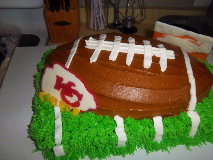 23 best Kansas City Chiefs Cakes images on Pinterest Kansas city