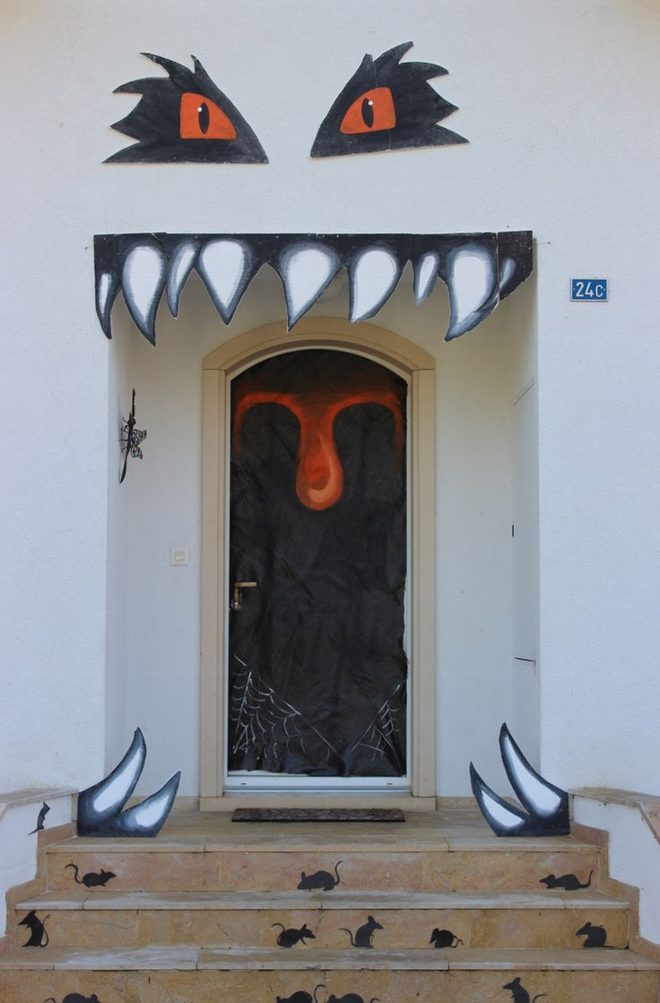 17 best images about mes creas deriendutout on pinterest for Idee deco exterieur halloween