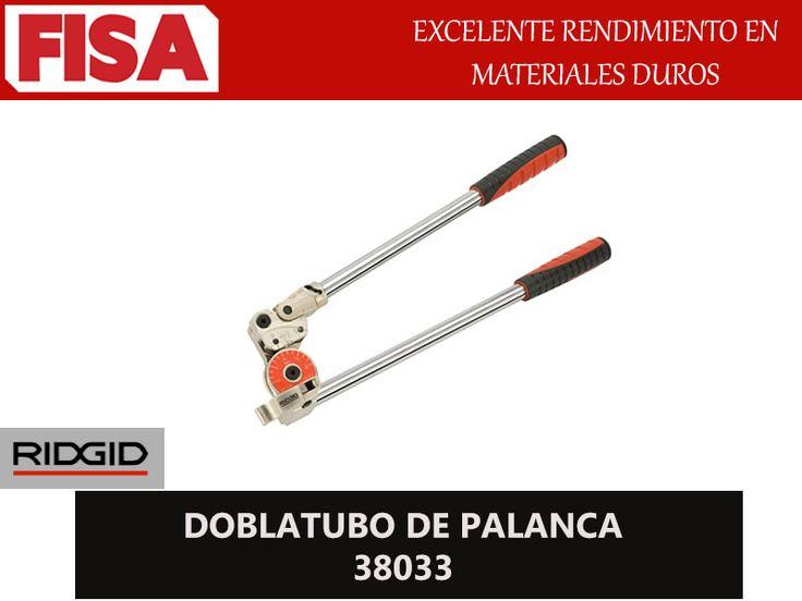 DOBLATUBO DE PALANCA 38033. Excelente rendimiento en materiales duros- FERRETERIA INDUSTRIAL -FISA S.A.S Carrera 25 # 17 - 64 Teléfono: 201 05 55 www.fisa.com.co/ Twitter:@FISA_Colombia Facebook: Ferreteria Industrial FISA Colombia