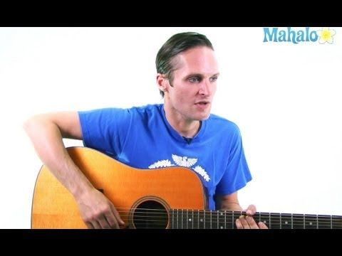 """How to Play """"Dancing in the Dark"""" by Bruce Springsteen on Acoustic Guitar"""