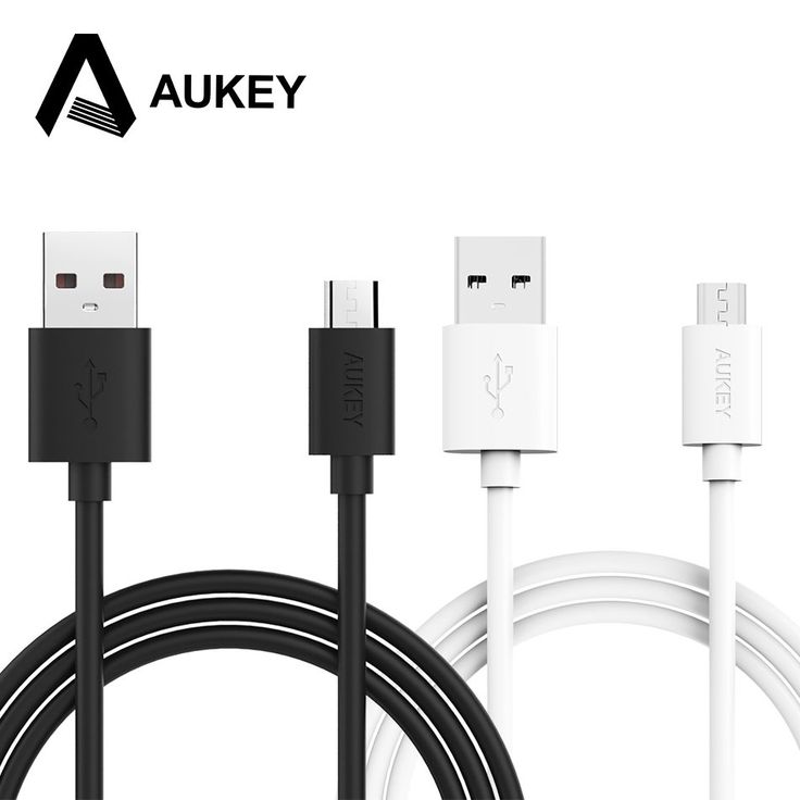 AUKEY Micro USB Cable 6.6ft / 2M USB 2.0 Data Sync Quick Charge Cable for Android Cellphone Samsung HTC Sony MP3 Powerbank &More //Price: $6.93//     #gadgets