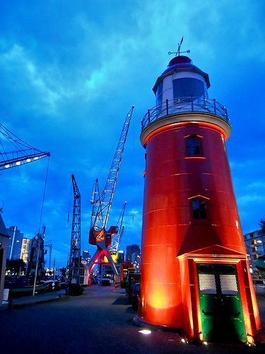 Lighthouse, Maritime museum, Rotterdam by STEHOUWER AND RECIO on Flickr
