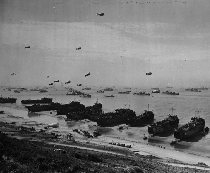 d day landing beaches photos