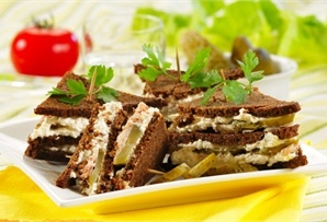 Kanapki z serem/ Sandwiches with cheese, www.winiary.pl