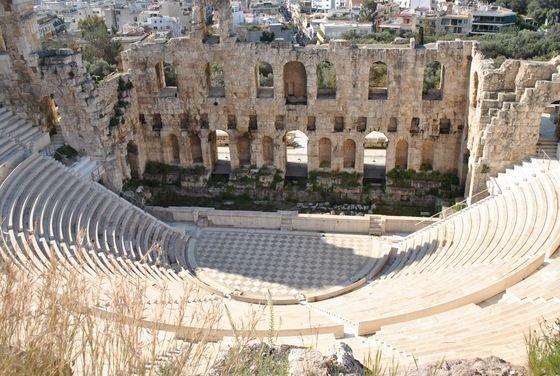 Teatro di Erode Attico Acropoli di Atene, Grecia  <3