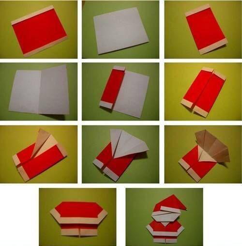 DIY cute santa gift card
