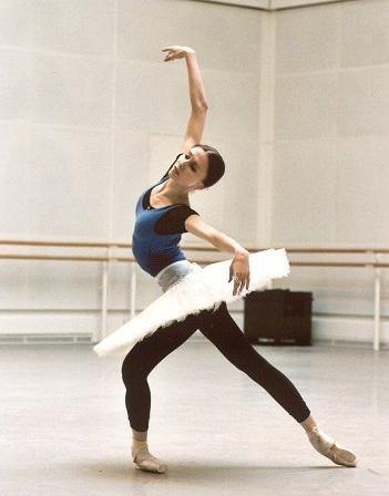 Svetlana Zakharova of the Bolshoi Ballet. (by marc haegeman, via ello dahling/Flickr)