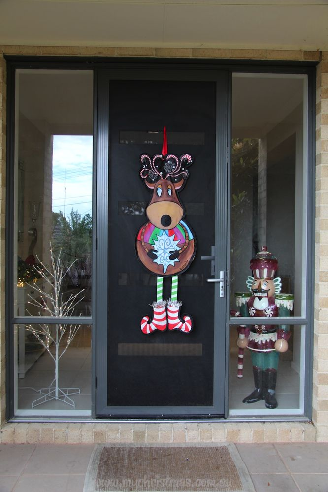 108 best Christmas Decorating for your Front Door images ...