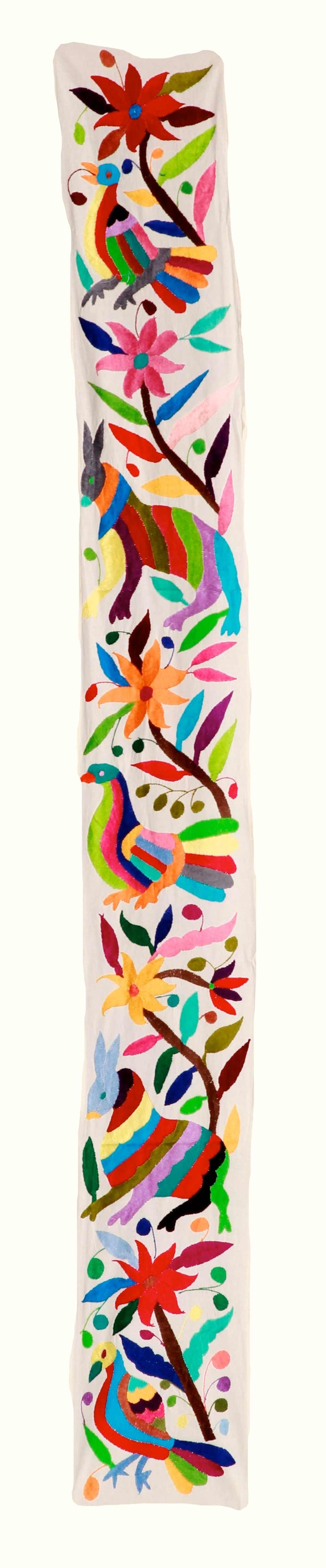 wow wall hanging ,otomi style