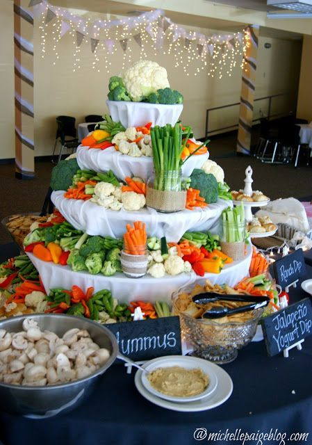Rustic Wedding Buffet Receptions Foods Ideas