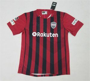 Vissel Kobe 2017-18 Season Home Black Red J.LEAGUE Shirt Jersey [J926]