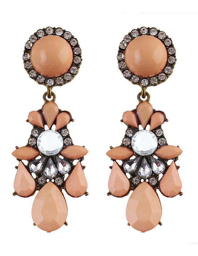 Pendientes+piedra+preciosa+-rosa+5.55
