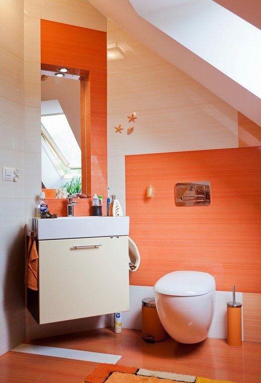 41 best images about Bathroom in orange color on Pinterest ...