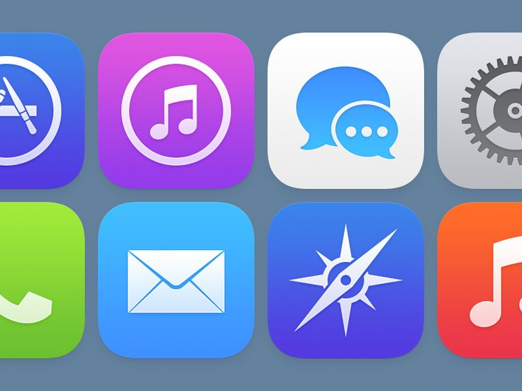 iOS Icons (Version 2)