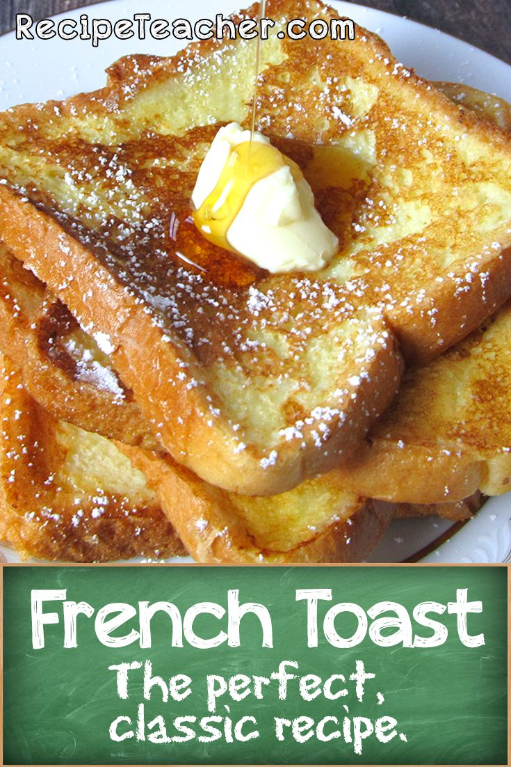Make the perfect, classic French Toast at home with this easy recipe.