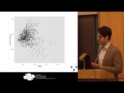 Markowitz Portfolio Optimization & Bayesian Regression - YouTube