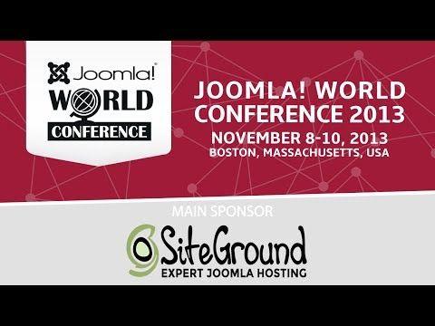 Joomla! World Conference 2013 - Friday Afternoon Keynote (+lista de repr...
