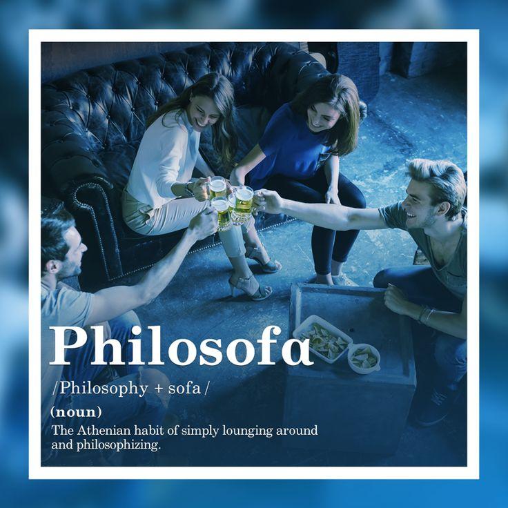 The Athenian habit of simply lounging around and philosophising  #Philosofα