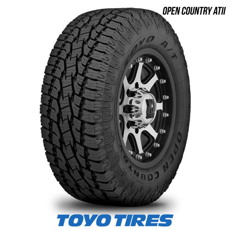 Cheap Mud Tires For Trucks >> Toyo Open Country AT II 255/70R16 109S BW 255 70 16 2557016 65K Warranty | 4x4 tires, Country ...
