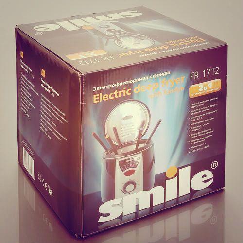 Электрофритюрница с фондю Smile FR 1712. Две нужных функции в одном устройстве http://zacaz.ru/products/dom-byt-kuhnya/kuhonnye-elektrotovary/frityurnica-smile-fr-1712/