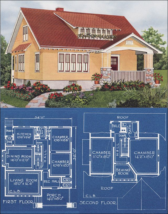 1921 american homes beautiful here 39 s a plan that has a for American remodeling