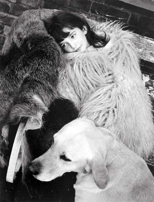 Kate Bush as a child, photographed by her brother John Carder Bush in their family home.