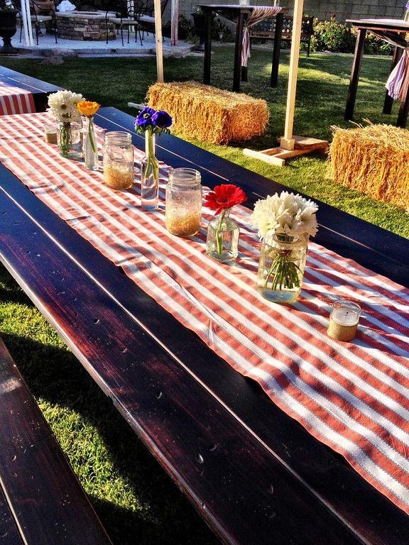 13 Best Summer Picnic Table Decor Images On Pinterest