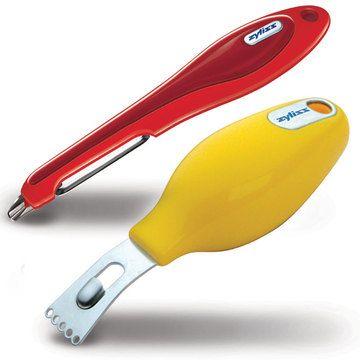 Zester And Soft Skin Peeler // nice ergonomic handles #productdesign #industrialdesign