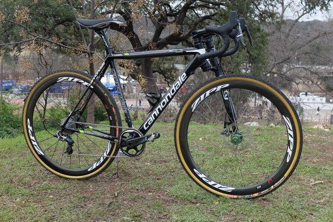 Spotted: Lefty fork on Cannondale gravel bike - VeloNews.com