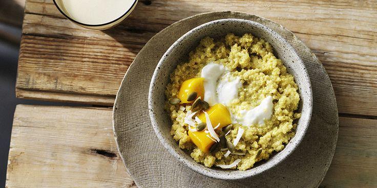 I Quit Sugar - Coconut Turmeric Quinoa Porridge