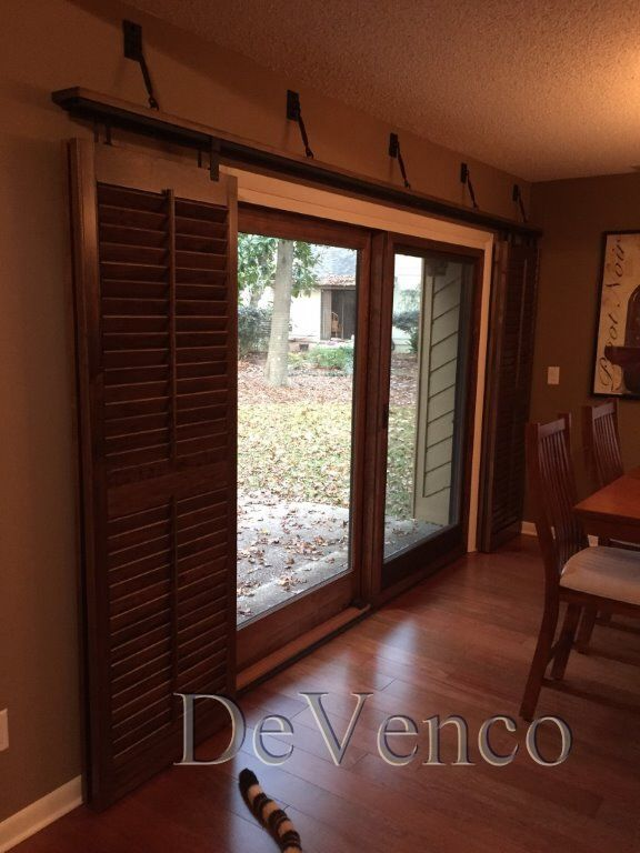 Charming Rolling Shutters For Glass Sliding Doors