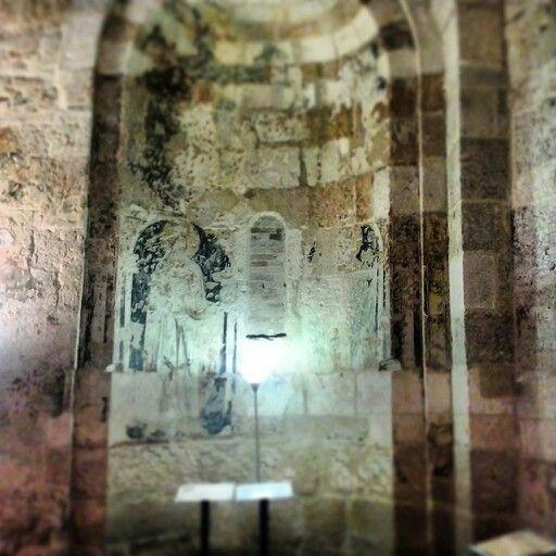 Chiesetta di san Giovanni al sepolcro, affresco raffigurante san Nicola!