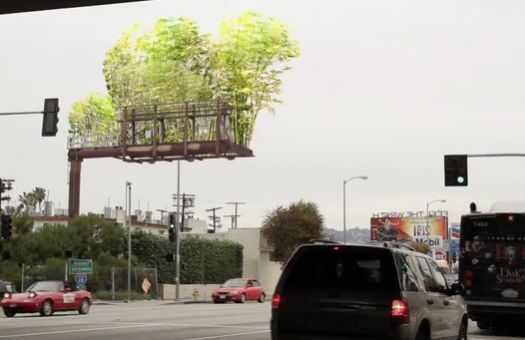 Let's Replace Annoying Billboards With Sky Forests of Bamboo | Popular Science