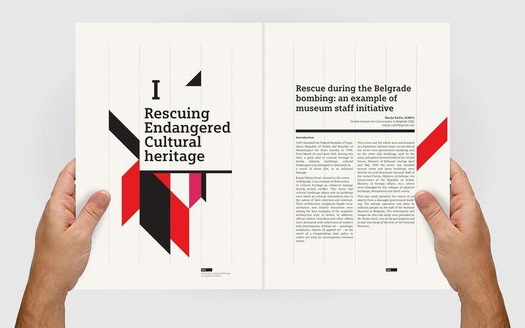 Design d'édition ICCROM « 8 Bis Agency