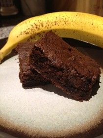 Paleo Banana Brownies