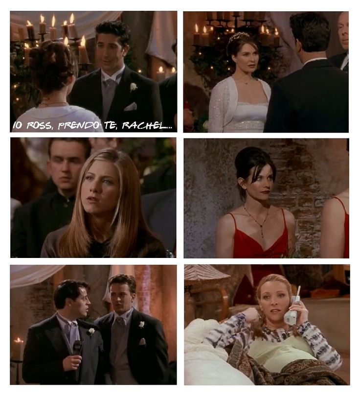 "Friends 4x24 ""Il Matrimonio di Ross""  #FRIENDS #VIGNETTA1 #THEIMPOSSIBLEGIRL #VANESSA"
