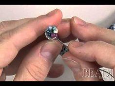 Joining tubular bead crochet by Julia Gerlach - YouTube
