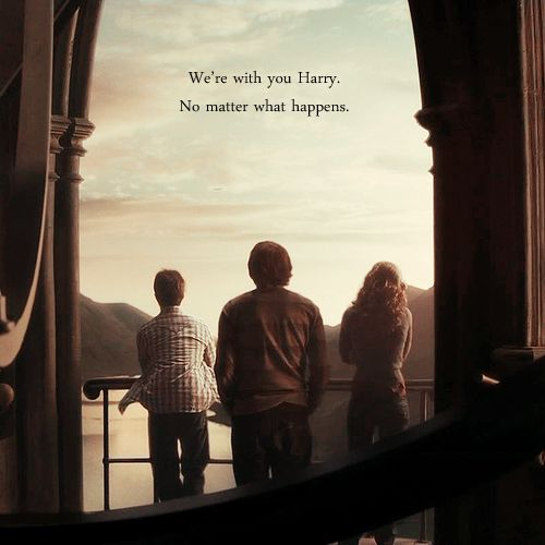 We're with you Harry. No matter what happens.