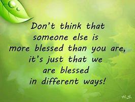 Blessed  amen